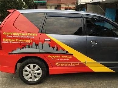 Kisaran harga branding mobil avanza terbaru