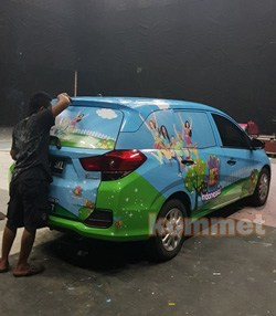 contoh hasil branding mobil